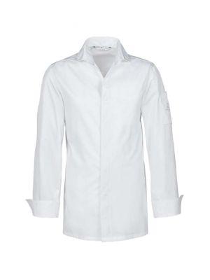 Hvid kokkeskjorte