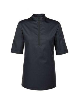 Sort kokkeskjorte