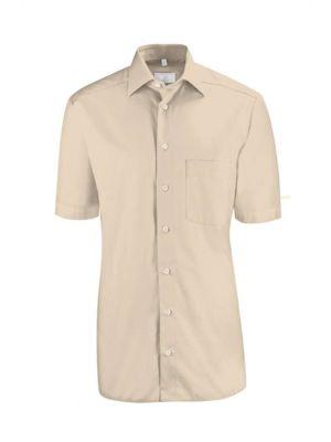 Beige farvet skjorte