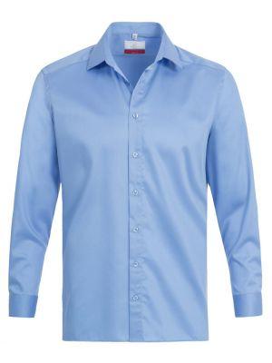Lys blå stretch strygefri herreskjorte