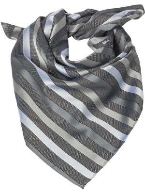 Dame Tørklæde / sjal Sølvgrå stribet
