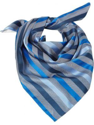 Dame Tørklæde / sjal Mørke blåstribet