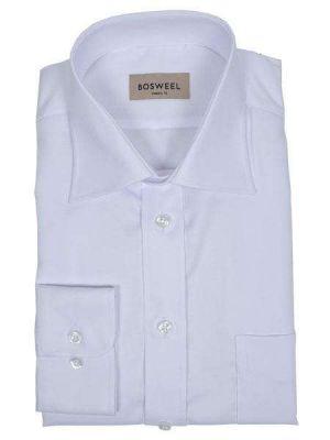 Hvid Bosweel skjorte strygefri str 41 - RESTSALG