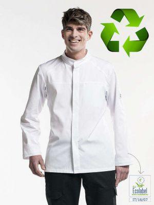 Recycle kokkejakke, langærmet