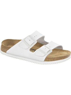 Hvid Birkenstock Arizona sandal Blød fodseng SL SFB