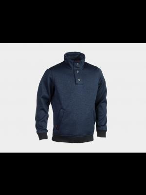Navy design sweather
