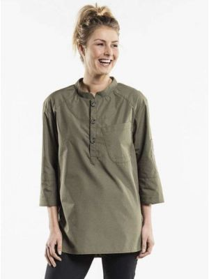 Bujutsu  -Oliven grøn kokkeskjorte