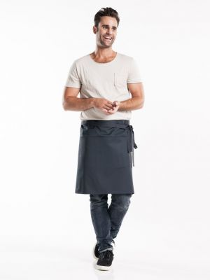 Koksgrå forstykke 50cm langt med lommer BSX