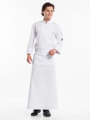 Hvidt farvet forstykke 100cm langt BSX