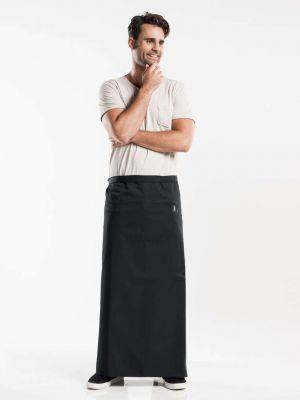 Sort forstykke 100cm langt med en stor lomme BSX