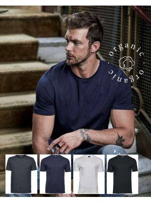 Organisk bomuld single Jersey t-shirt