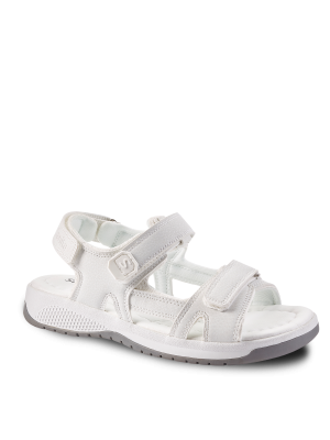 Manketti Sanita skridsikker sandal Hvid ESD