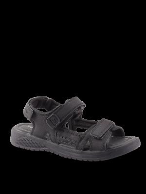 Sort Unisex sandal