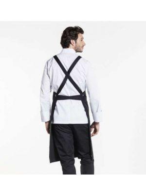 Sort Cross forklæde med lommer BSX