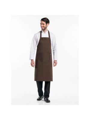 Mokka / chokolade brunt forklæde