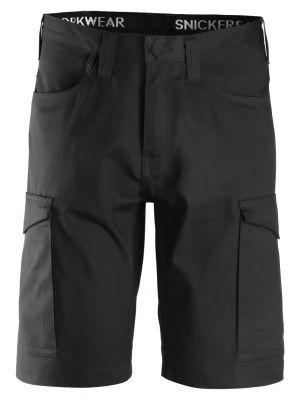 Sorte snickers Service shorts med lårlomme