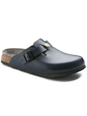 Boston ESD Blå lukket birkenstock sandal 36-42