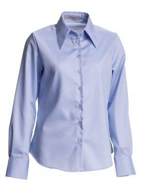 Dame bosweel Regular feminine fit skjorte- blå