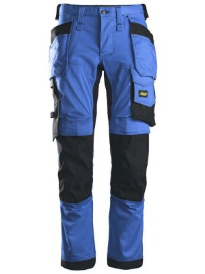 True blue farvede snickers bukser