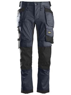 Navy farvede snickers bukser