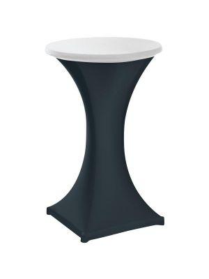 Stretch stående borddug - Hvid, 2 størrelser
