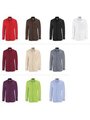Bordeaux farvet skjorte