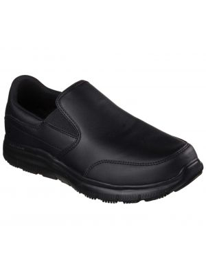 Sort herre skechers skridsikker sko Bronwood