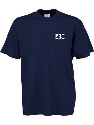Navyblå kvalitets t-shirt - med ZBC logo