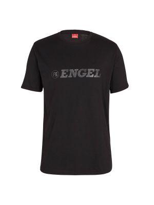 F-engel Sort T-shirts 3D Printet Logo
