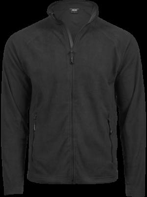 Active fleece jakke i sort -unisex
