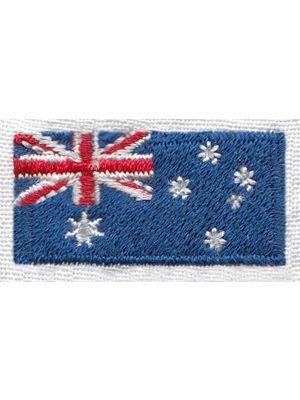 Australsk flag broderi (2stk)