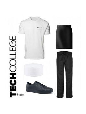 Bager & konditor uniformspakke Slip-on Tech college