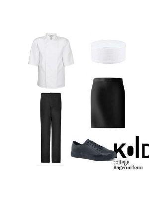 Bager & konditor uniformspakke Kold college