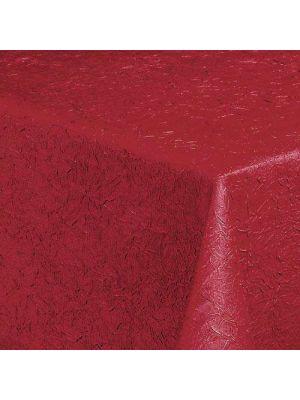 Rød  Strygefri stofdug Brighton - 130x220 RESTSALG 2STK TILBAGE