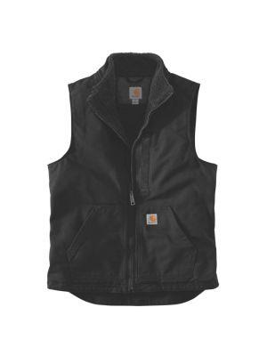 Carhartt Sort Duck Vest Foret 100% Bomuld