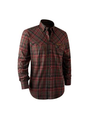 Red check Deerhunter skjorte