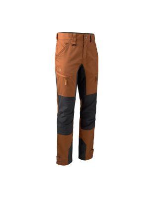 Rogaland Stretchbukser med kontrast Burnt orange Deerhunter