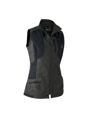 Lady Ann Vest Black Ink Deerhunter