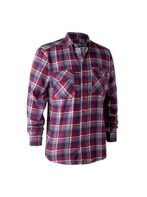 Marvin Skjorte Red Check Deerhunter