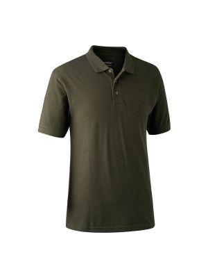 Redding Poloshirt Bark Green Deerhunter