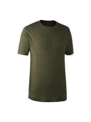 T-Shirt 2 pak Green/Brown Leaf Deerhunter
