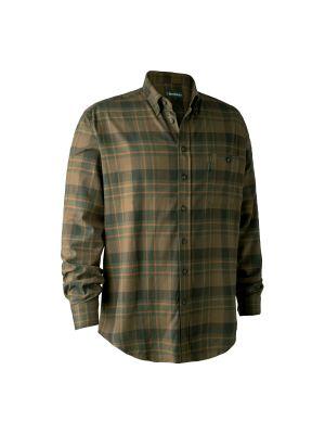 Kyle Skjorte Green Check Deerhunter