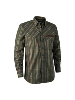 Keith Skjorte Green Check Deerhunter