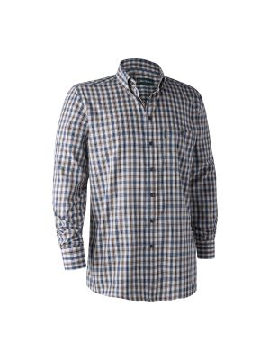 Marcus Skjorte Blue Check Deerhunter