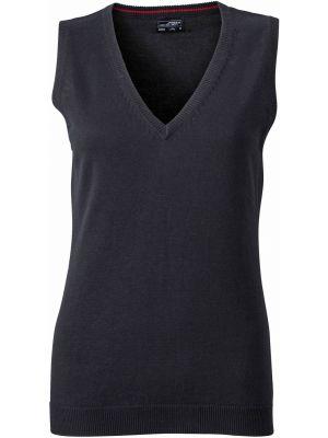 Dame pullover vest -sort