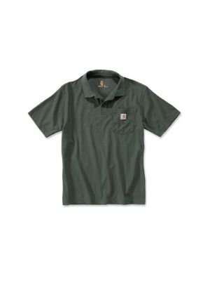 Carhart Grøn Polo m/brystlomme