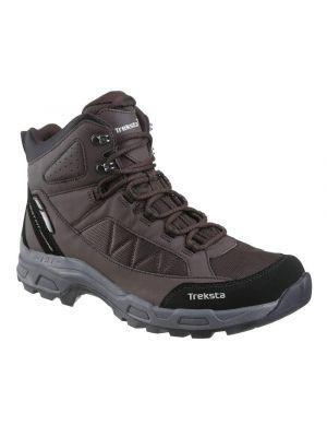 Treksta brun vandrestøvle med optimal komfort