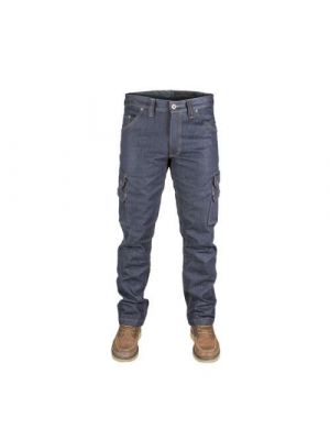 Dunderdon Cordura denim jeans med lårlomme P60 RESTSALG