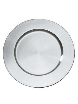 Sølv look dækketallerkener