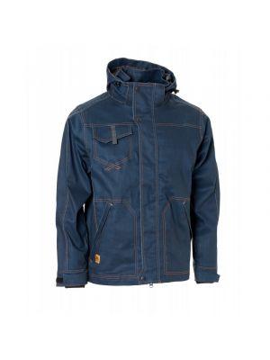 Elka Vintage denim arbejds og regnjakke  i vintage blå